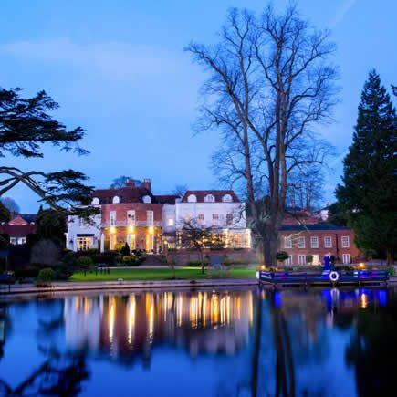 St Michaels Manor St Albans Hertfordshire at twilight - Mark Sisley Photography
