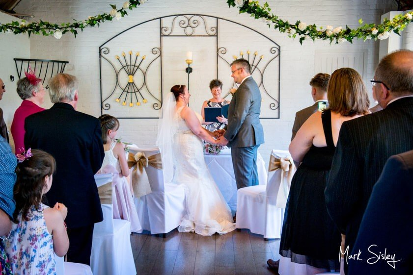 Wedding ceremony at the Five Arrows Waddesdon - Mark Sisley Photography