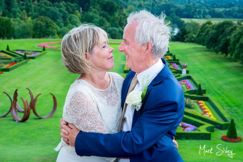 Bride and groom - wedding at Cliveden House - Mark Sisley Photography