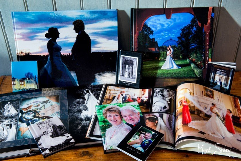 wedding photobook - Mark Sisley Photography