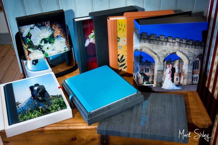 wedding albums - Mark Sisley Photography