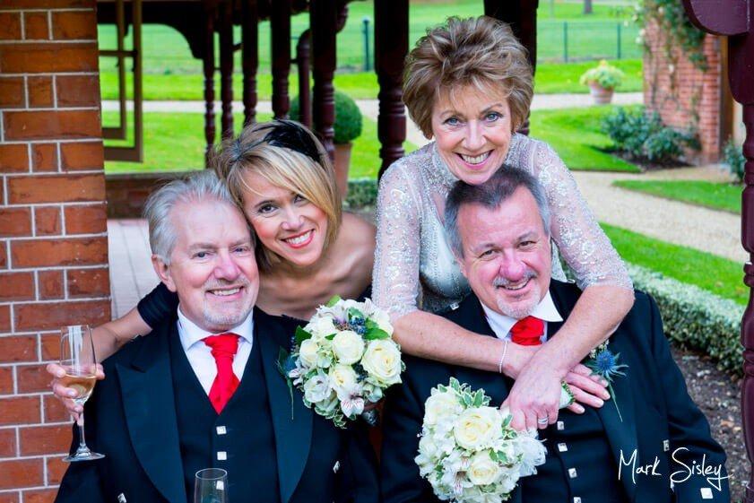 Bridal party - wedding at Waddesdon Manor - Mark Sisley Photography