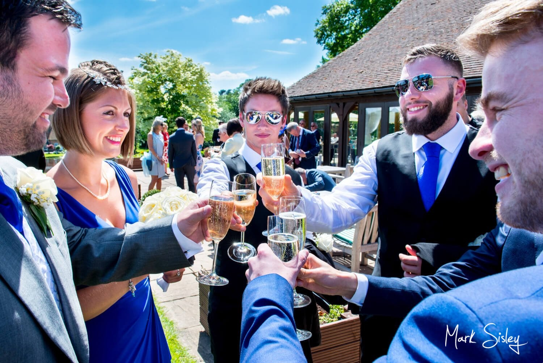 Reportage Brocket Hall wedding photography