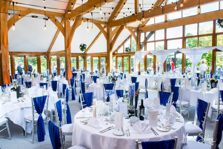 Brocket Hall Oak Room wedding photography