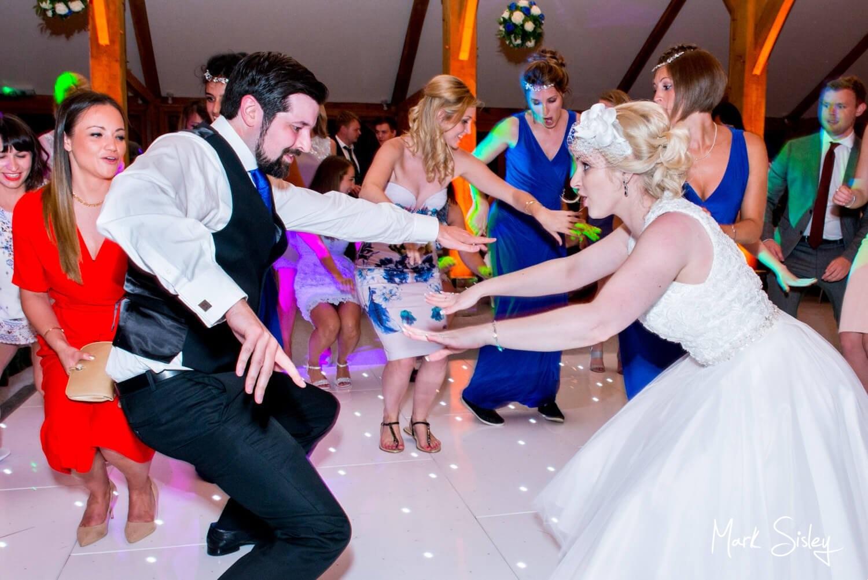 Brocket Hall wedding photography on the dancefloor