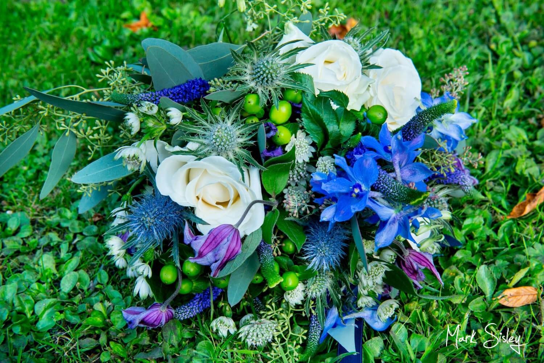 Five Arrows Waddesdon wedding bouquet