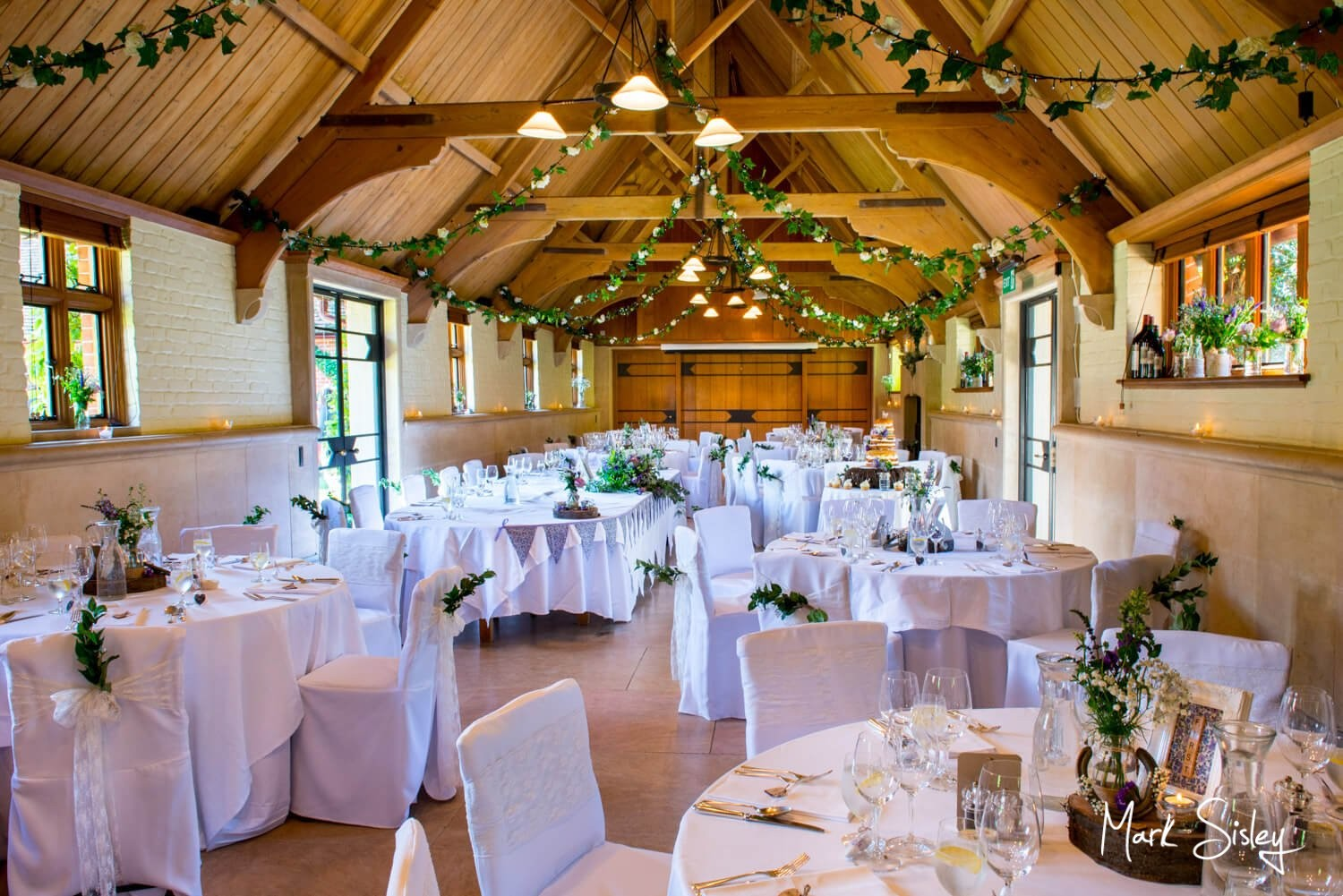Dairy Waddesdon wedding photos of West Hall