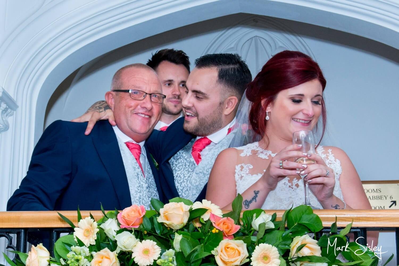 Missenden Abbey wedding speeches celebration