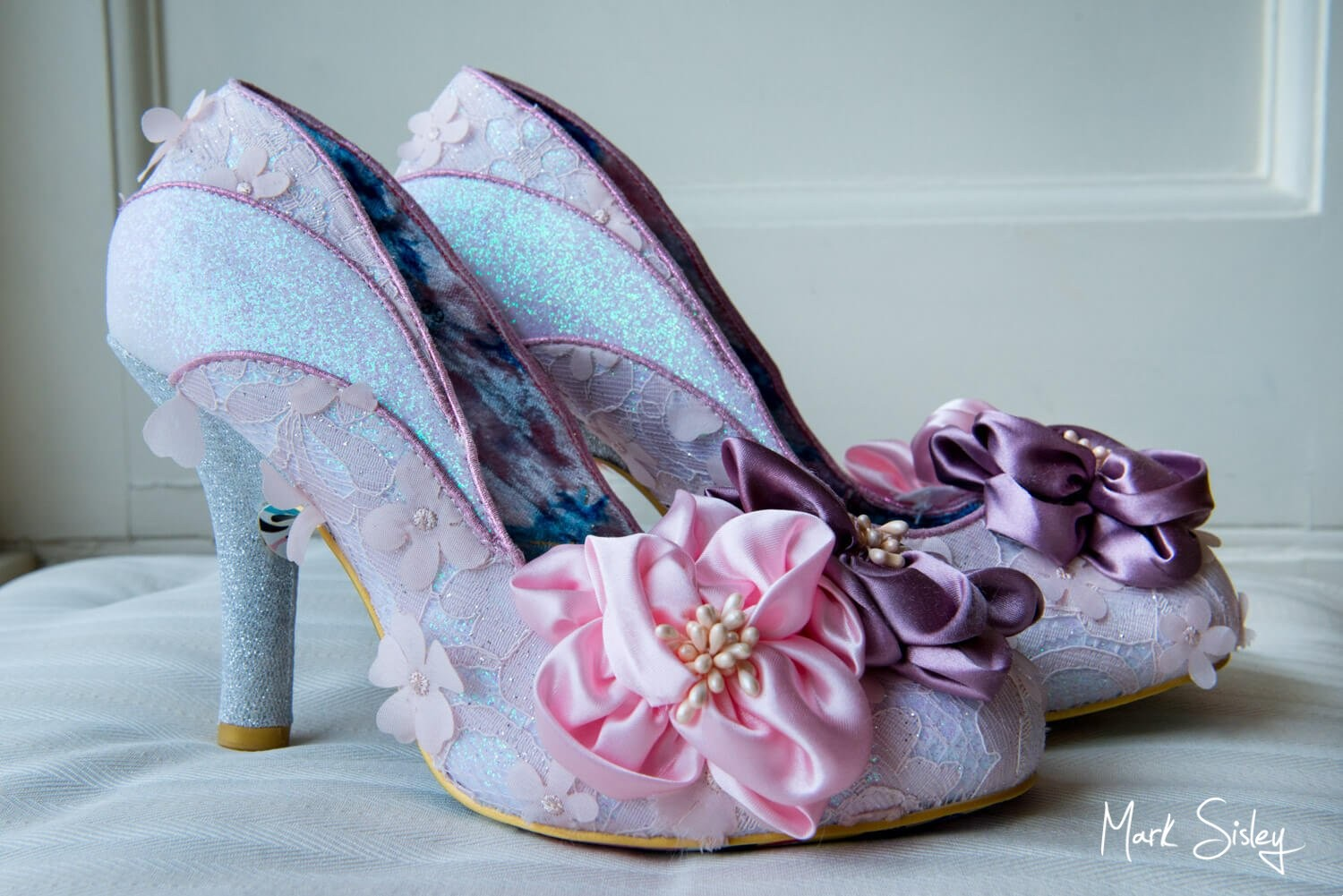 The wedding shoes - Hartwell House photography in the rain