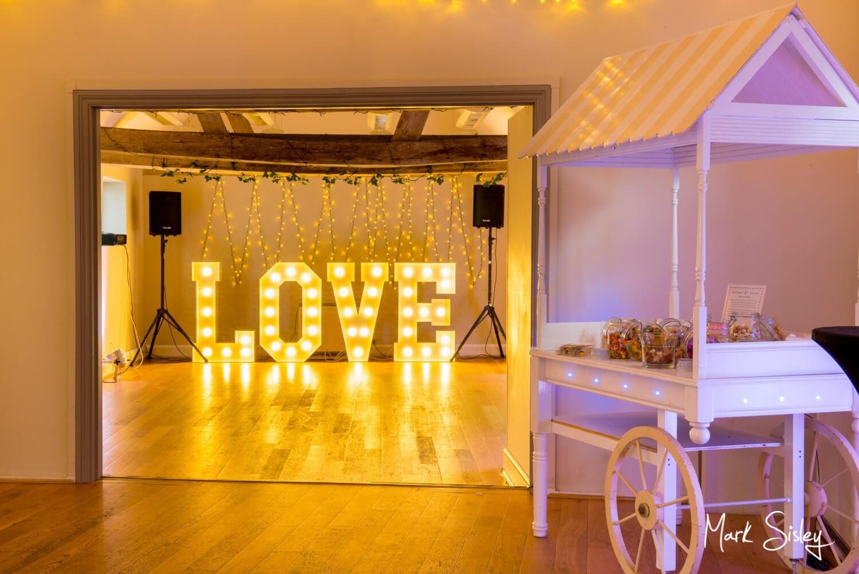 Monkton Barn wedding photography interiors