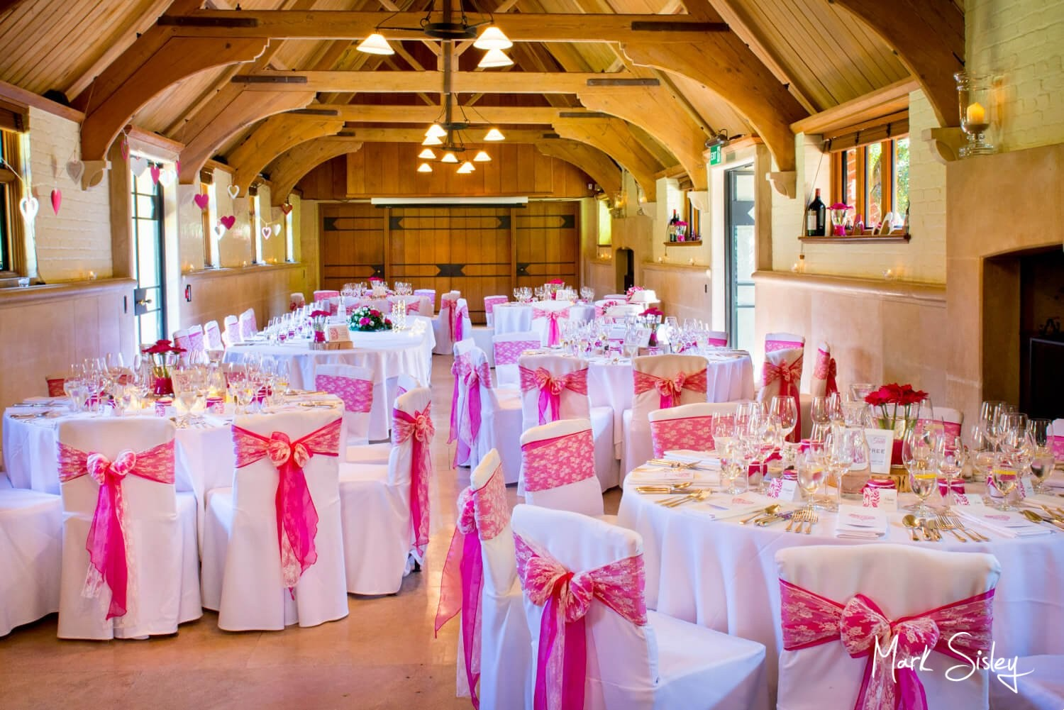 Dairy Waddesdon wedding day image in The West Hall