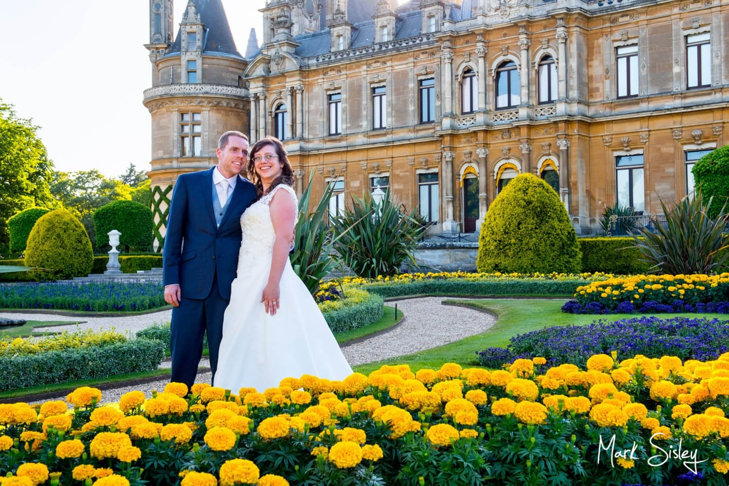 Dairy Waddesdon wedding day images at the manor