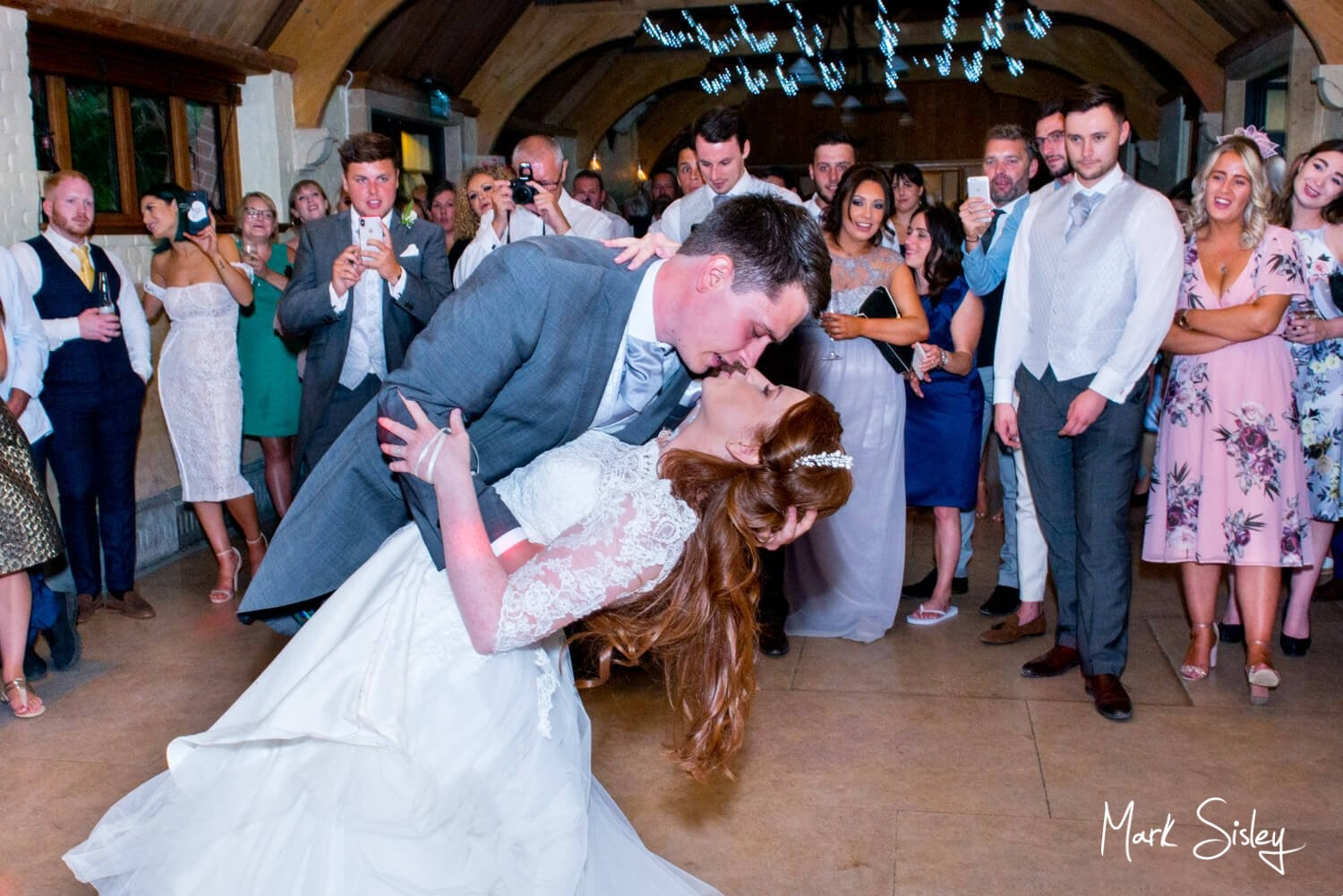Dairy Waddesdon Manor wedding choreographed first dance