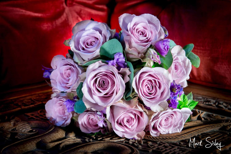 Choosing a wedding photographer - bridal bouquet