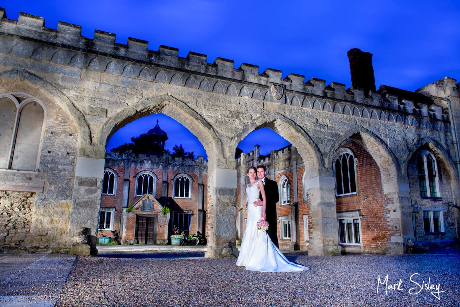 Choosing a wedding photographer - newlyweds at Nether Winchendon House