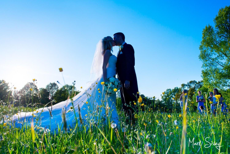 Choosing a wedding photographer - through the wildflower field