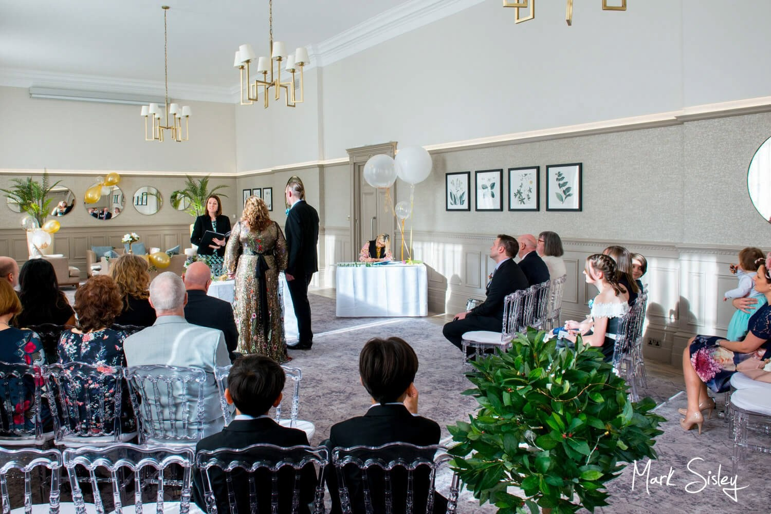 Beaumont Estate winter civil wedding ceremony by Mark Sisley photography