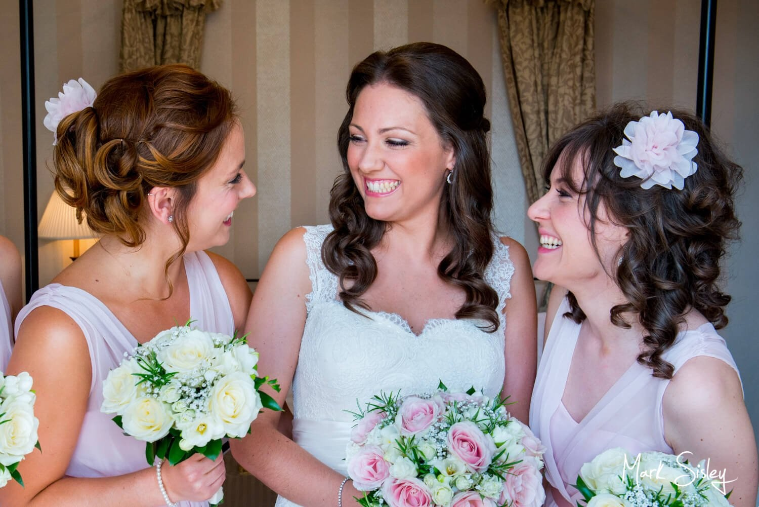 Pre ceremony Taplow House Hotel summer wedding photography