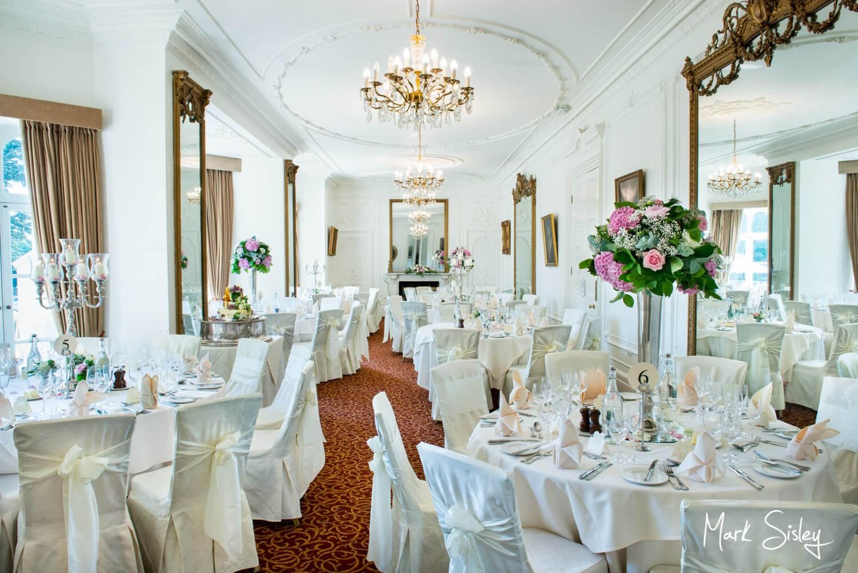 Taplow House summer wedding interior