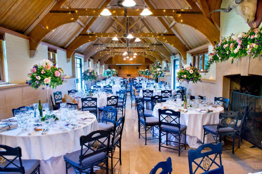 Waddesdon wedding photography of the West Hall