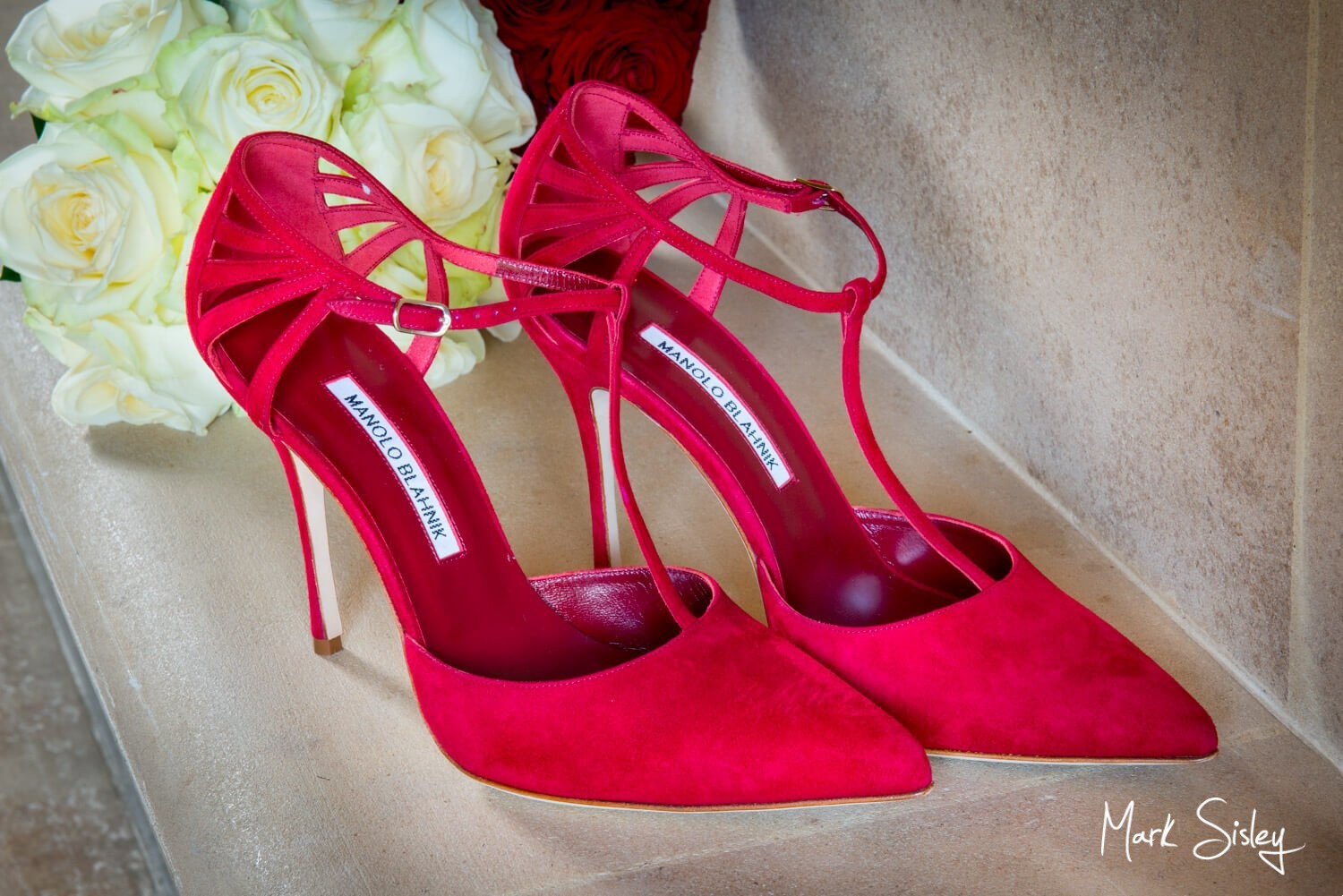Dairy, Waddesdon Christmas wedding shoes for the bride
