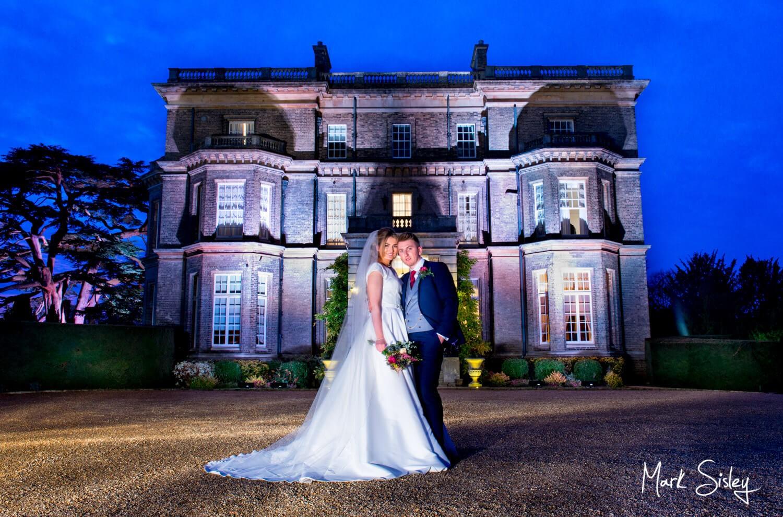 Hedsor House wedding photographs at dusk