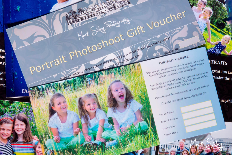 Buckinghamshire family portrait photography gift voucher