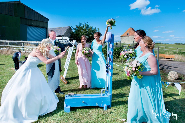 Notley Tythe Barn wedding fun and games