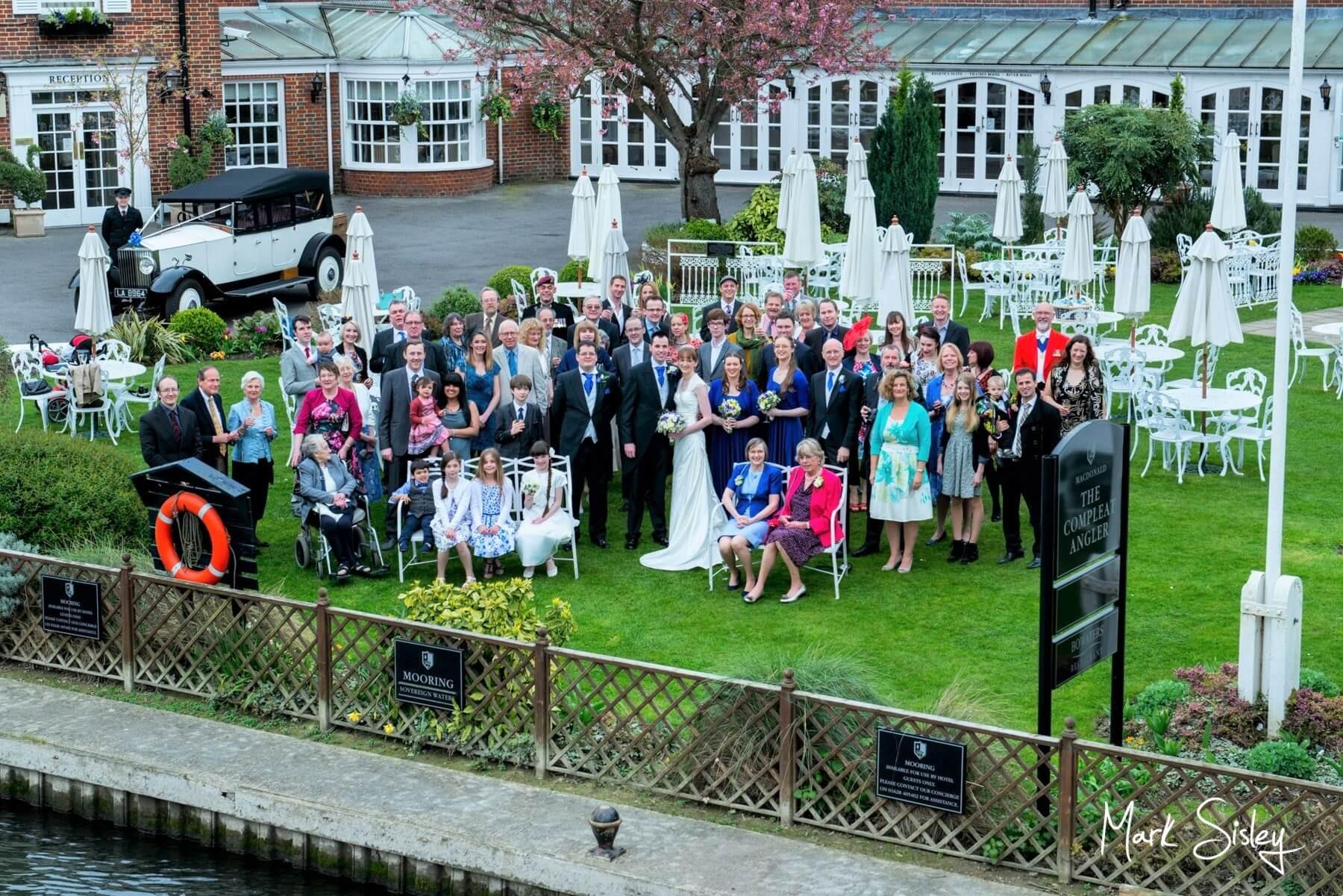 Buckinghamshire Wedding Photography - Compleat Angler Hotel Marlowe