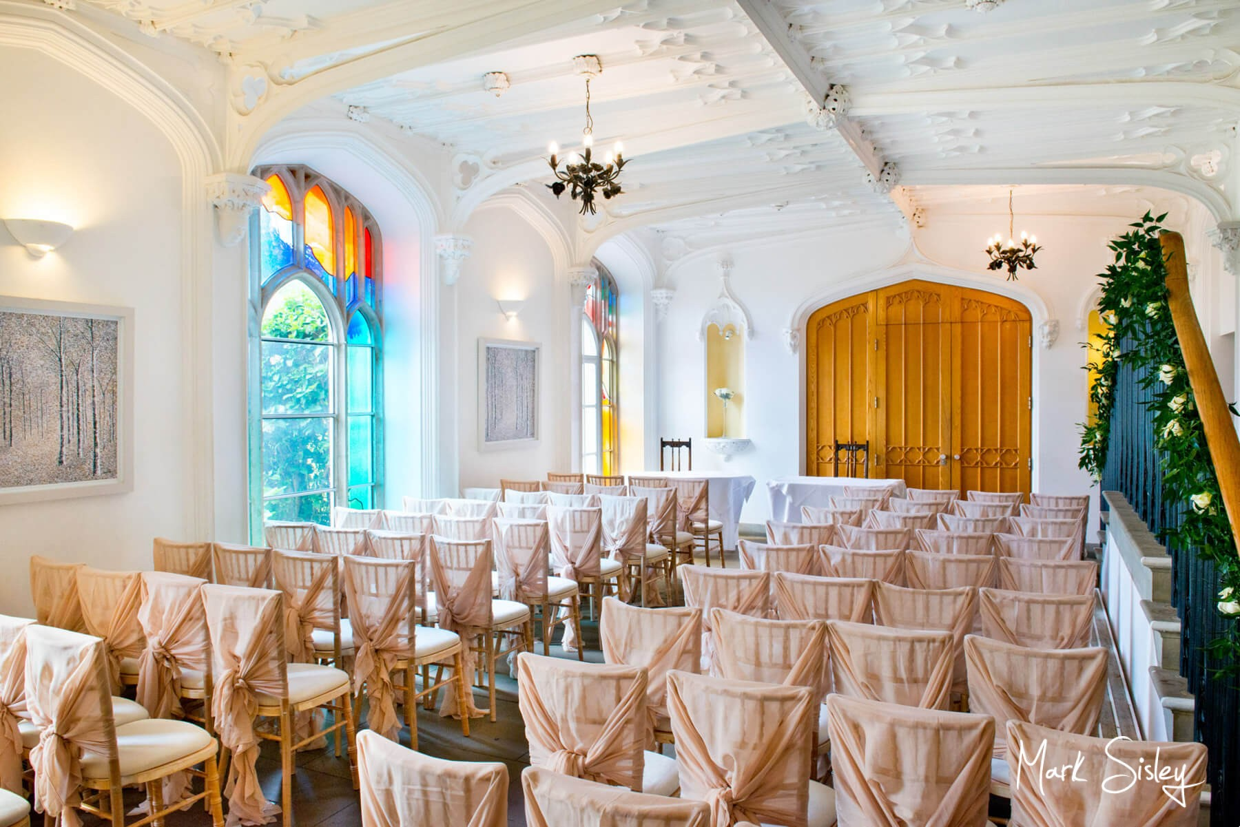 Buckinghamshire Wedding Photography - Missenden Abbey wedding ceremony