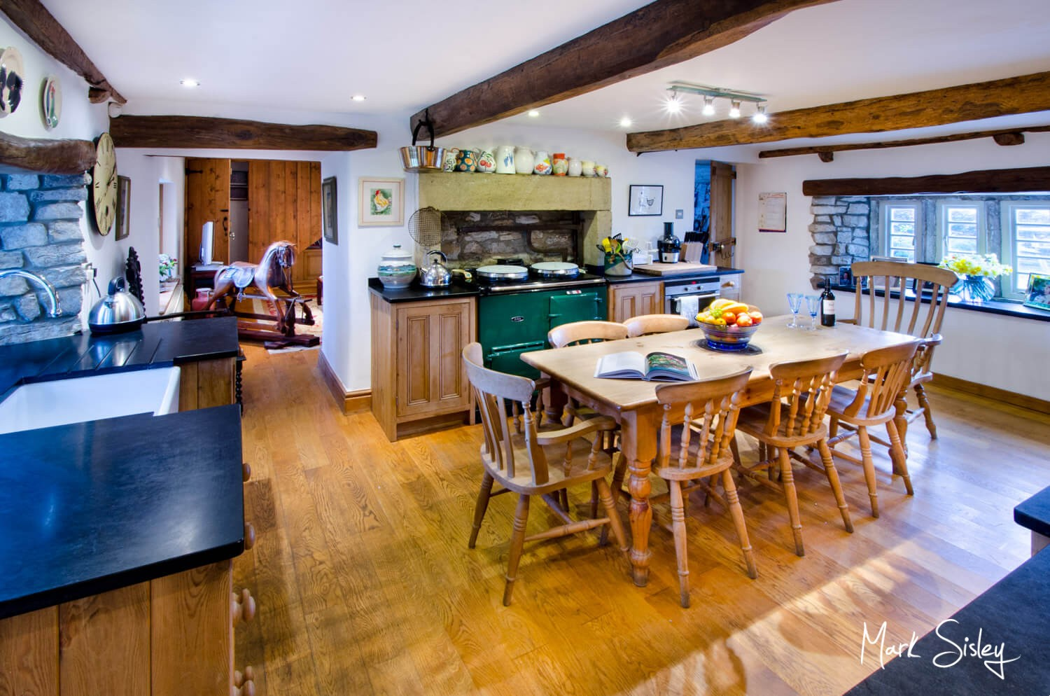UK Holiday home interiors & exteriors photography - Yorkshire Dales