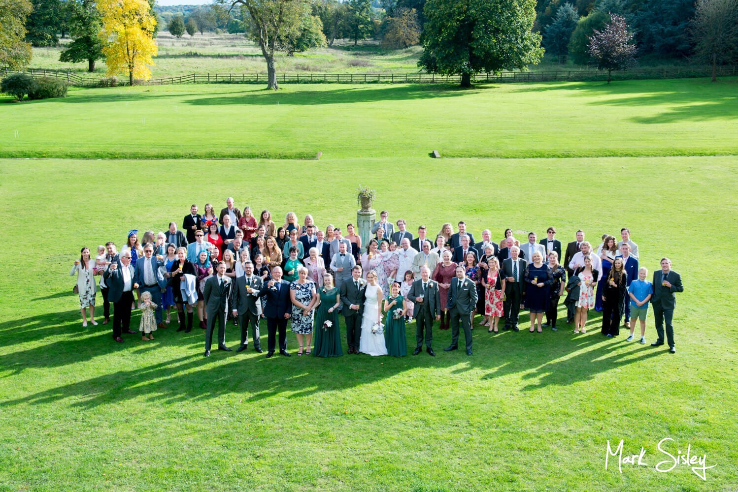Missenden Abbey wedding group pictures