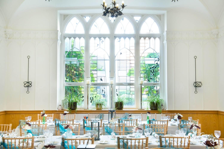 Missenden Abbey wedding pictures interior shot
