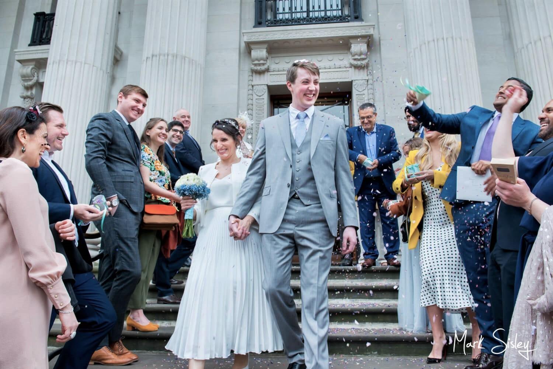 Marylebone Old Town Hall wedding photography