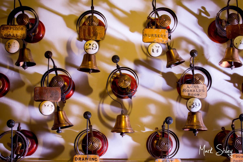 Cliveden House wedding photography blog - The servants bells