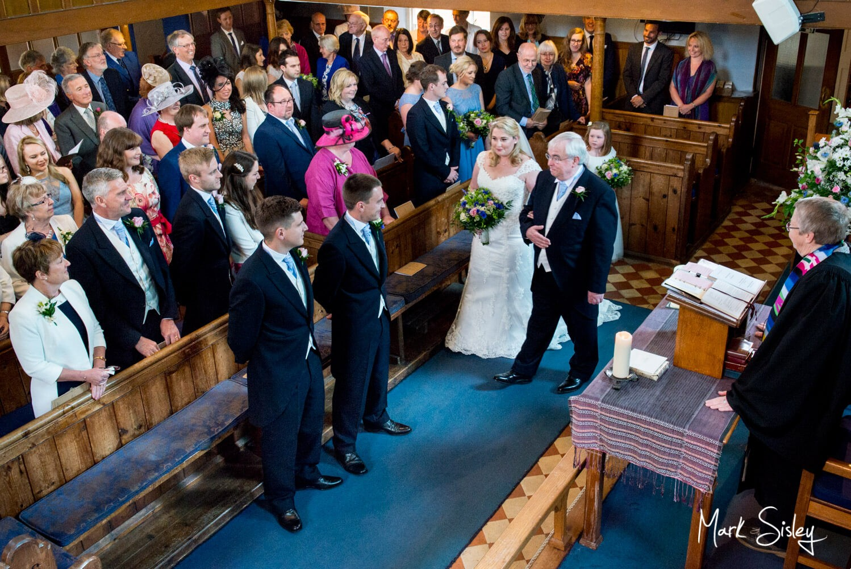 Haddenham Baptist Church wedding