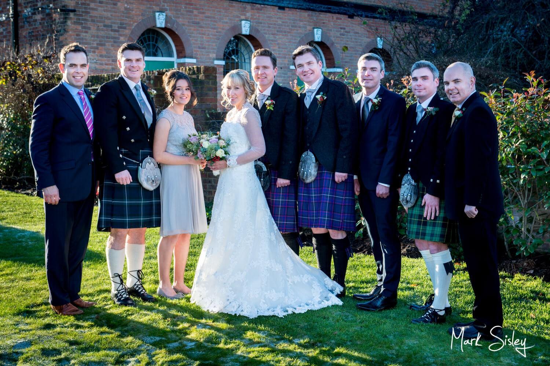 Kings Chapel Amersham wedding group picture