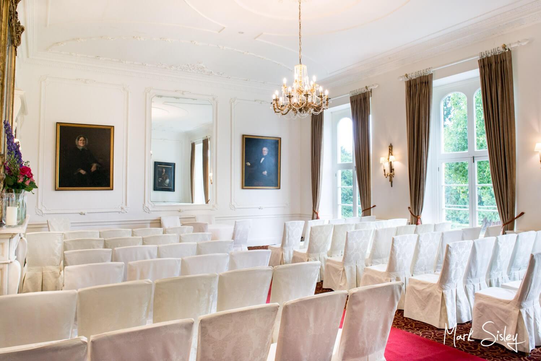 Taplow House Hotel civil wedding ceremony room