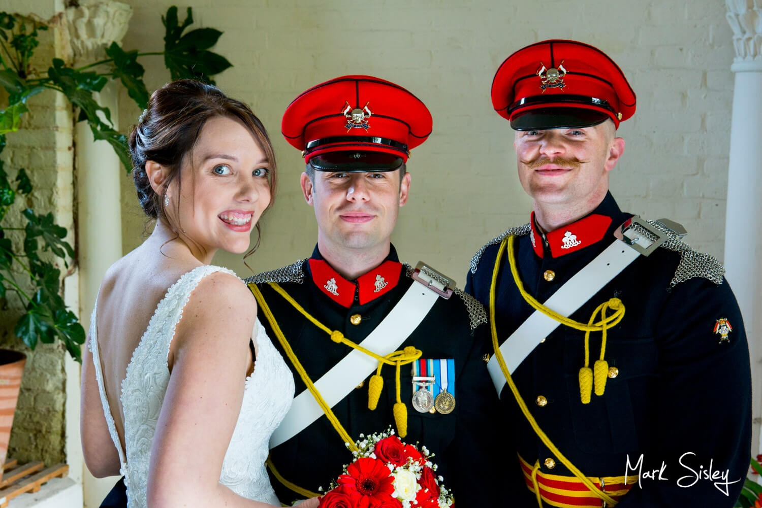 Missenden Abbey military wedding