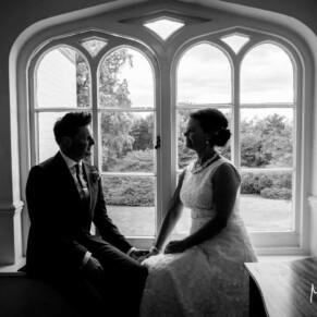 Taplow House Hotel silhouette wedding photos