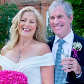 Grove Hotel Watford wedding photography of the newlyweds