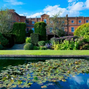 Grove Hotel Watford wedding photography of the stunning gardens on a summer's day